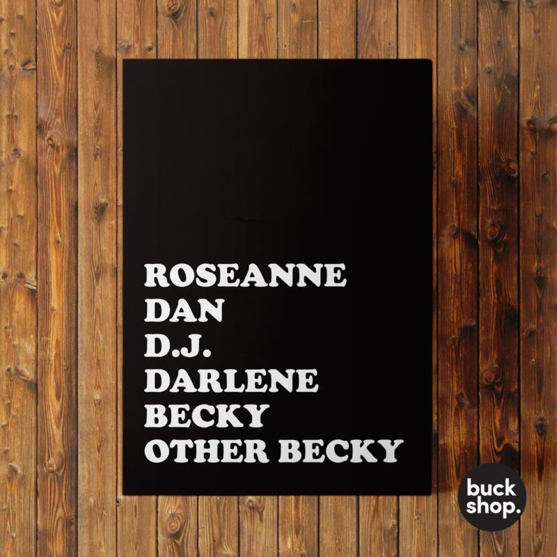 Roseanne Greeting Card by BuckShop.co.uk