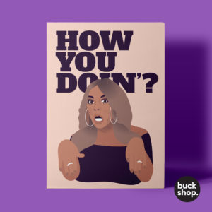 Wendy Williams- How You Doin'? Greeting Card