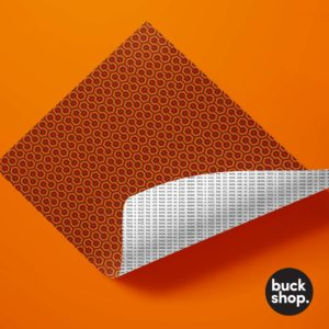 Orange Version of The Shining Wrapping Paper by Buck Shop