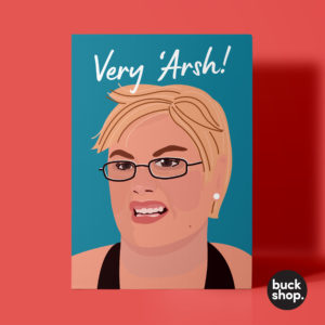 Very Arsh! X Factor inspired Greeting Card