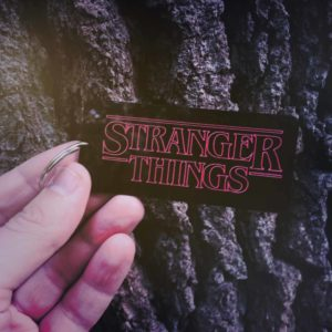 Stranger Things Keyring