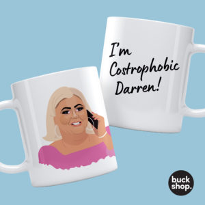 Gemma Collins inspired Personalised Mug by BuckShop.co.uk