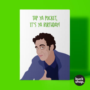 ASDA Guy Greeting Card