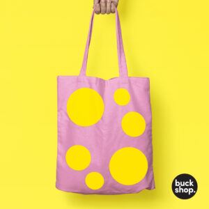 Mr Blobby inspired Tote Bag