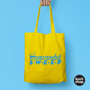 Supermarket Sweep inspired Tote Bag